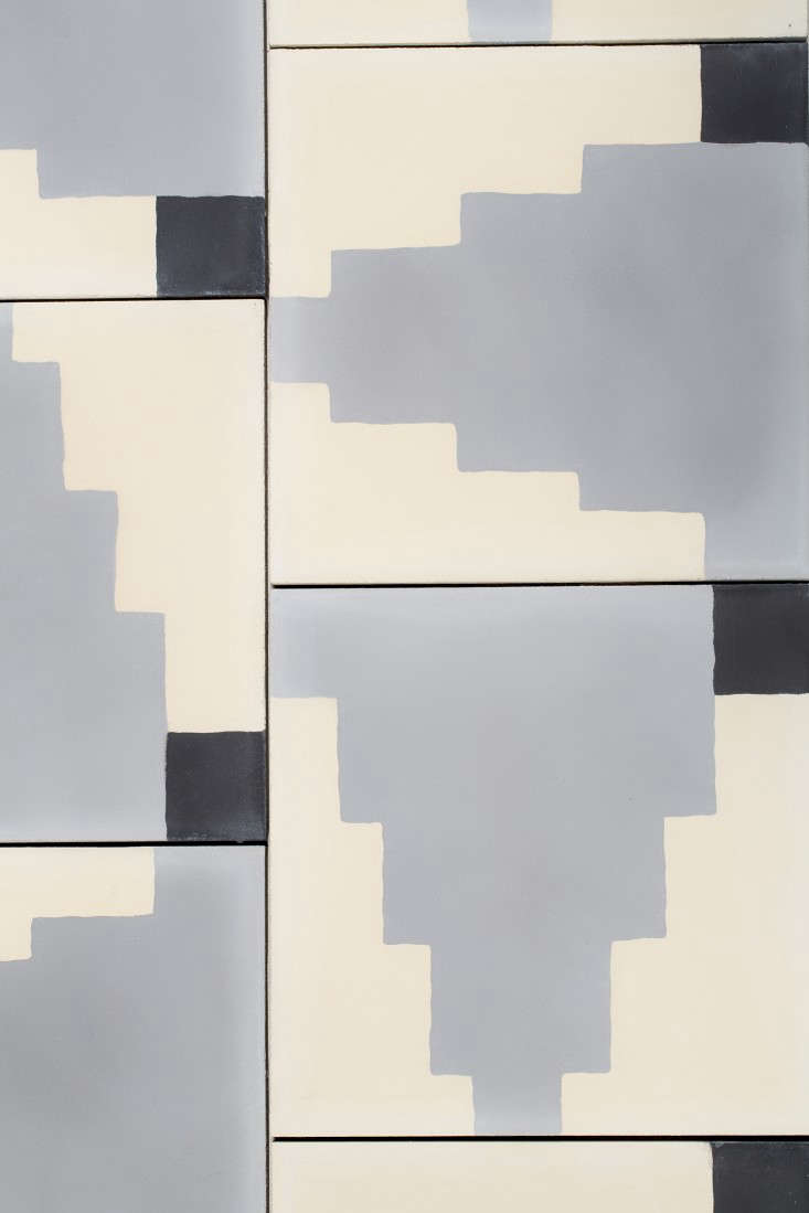 Living in Black and White: Commune\'s New Concrete Tiles - Remodelista