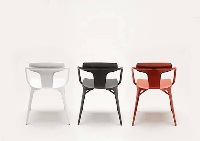 A Classic Reimagined: The New T14 Chair From Tolix