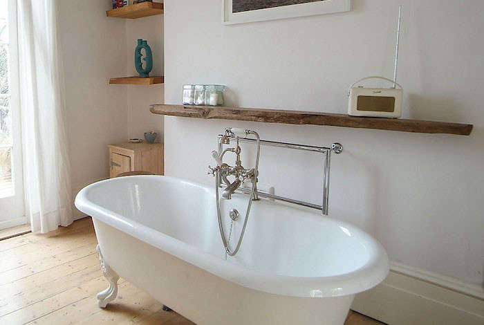 towel warmer bar in uk house