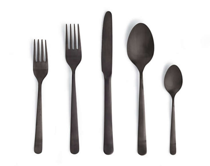 Nice Recently, While Having Lunch At A Friendu0027s House, I Admired Her Striking  Flatware In Matte Black. Now Iu0027m Seeing It Everywhere Along With Its  Summery ...