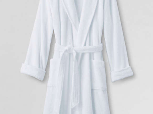 a6d3c10fd4 Men s 14-ounce Turkish Terry Calf Length Robe
