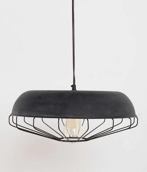 Caged Pendant Lamp