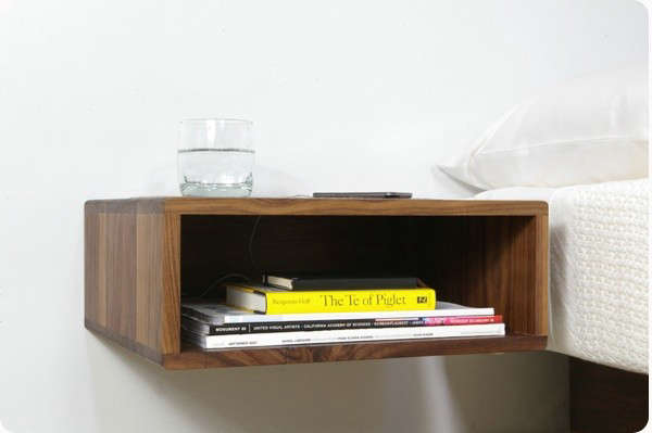 5 Favorites: Bedside Shelves (in Lieu of Tables) - Remodelista