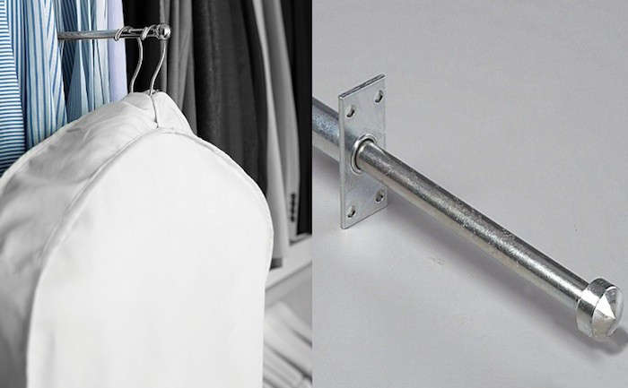 Beau 5 Quick Fixes: Closet Valet Rods And Hooks