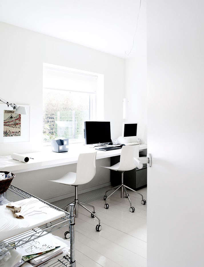 Whatu0027s The General Strategy For Lighting A Home Office?