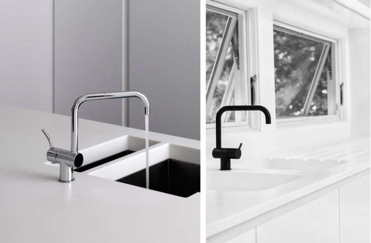 10 Easy Pieces Architects Go To Modern Kitchen Faucets