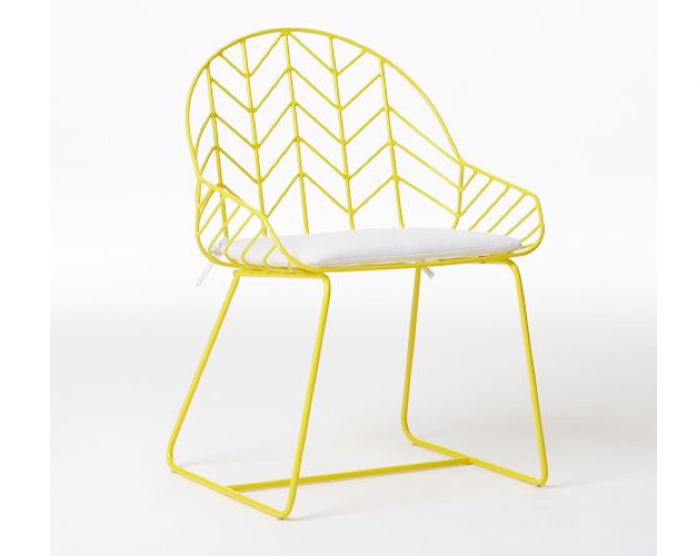 Superb Bend It Like Nanda A High Low Wire Chair Remodelista Creativecarmelina Interior Chair Design Creativecarmelinacom