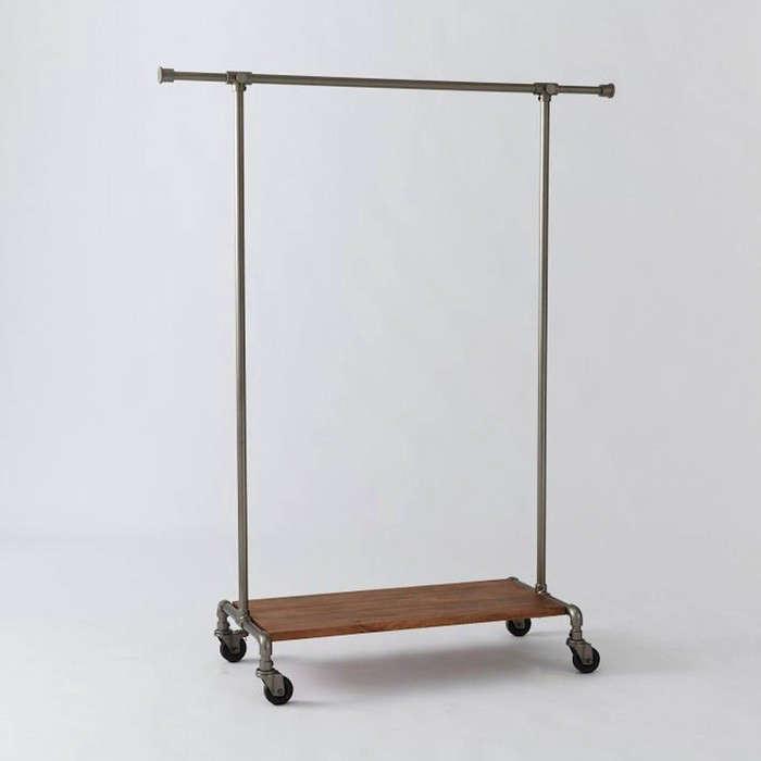 10 easy pieces metal clothing racks remodelista. Black Bedroom Furniture Sets. Home Design Ideas