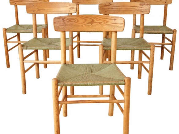Early Borge Morgensen Original Shaker Chairs