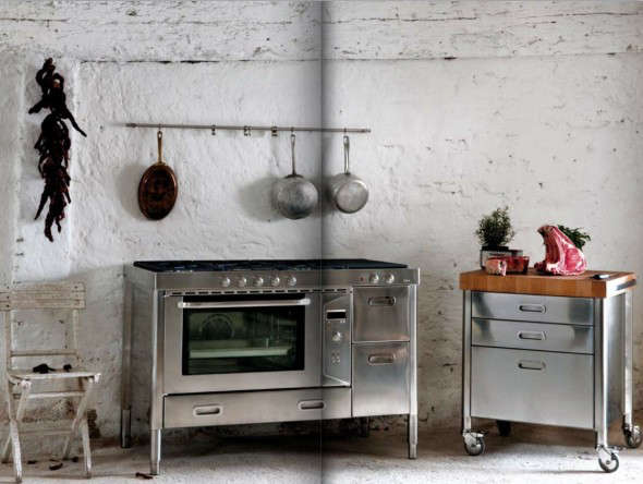 Race-Car-Style Appliances for Compact Kitchens - Remodelista