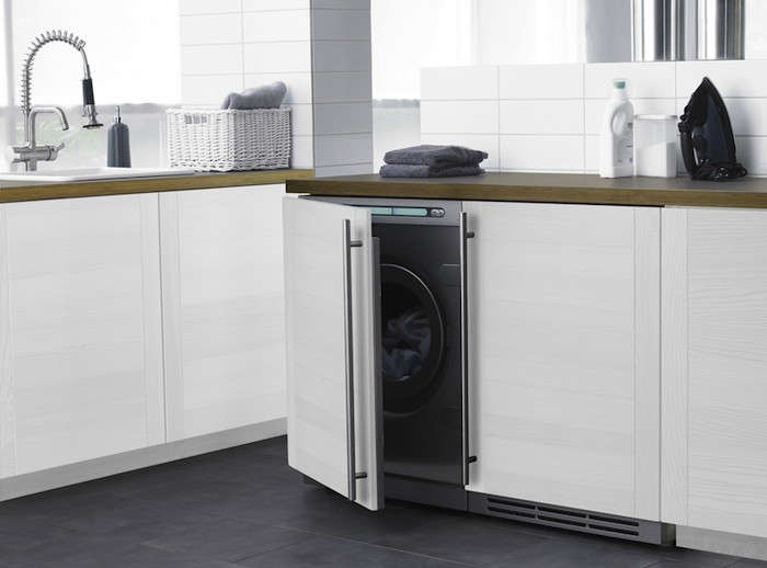 Above: The Asko Designer Series Fully Integrated Washer (W6984FI) And Its  Mate, The Asko Fully Integrated Electric Dryer (T794FI), Blend In  Seamlessly With ...