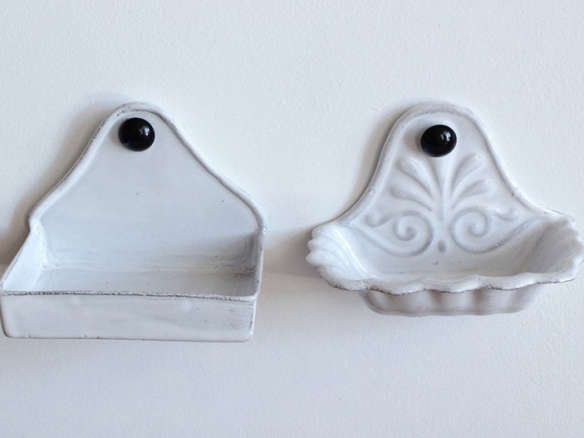Astier De Villatte Ceramic Wall Soap Dishes