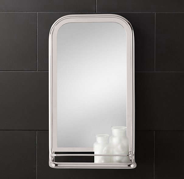 Bathroom Mirrors Range design sleuth: 5 bathroom mirrors with shelves - remodelista
