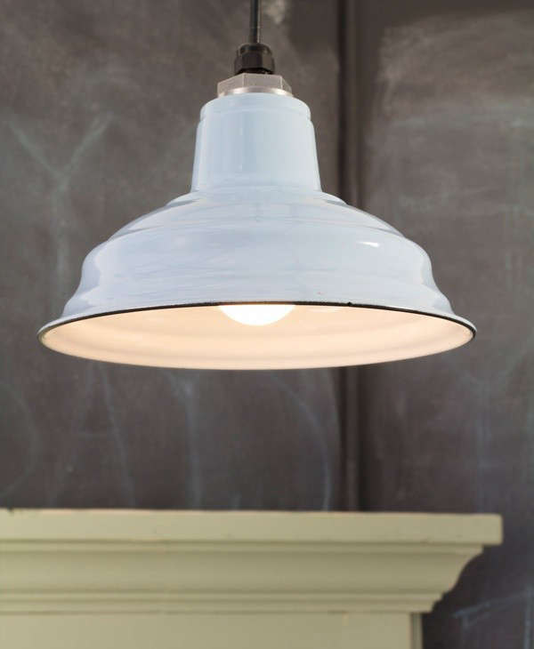 Made In America Clic Porcelain Enameled Lighting From