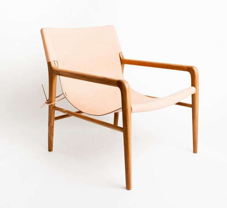 10 Easy Pieces The New Pale Leather Lounge Chair Remodelista