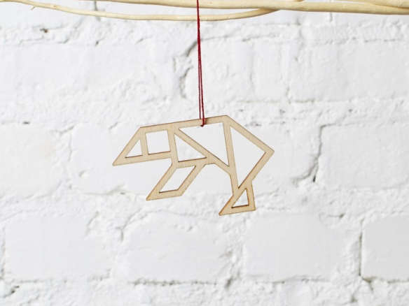 Gift Guide: 10 Geometric Tree Ornaments