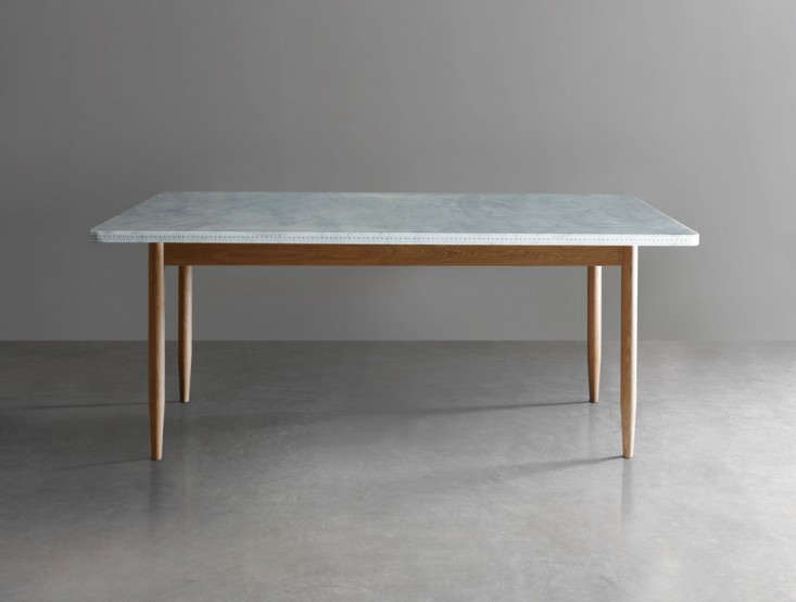 Easy Pieces MarbleTop Dining Tables Remodelista - Marble top farm table
