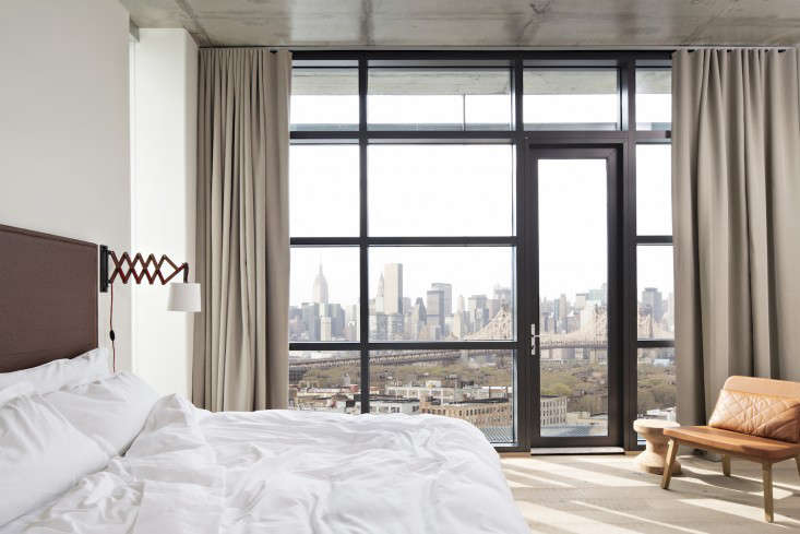 Stunning Above A sweeping view of the New York City skyline from Queens