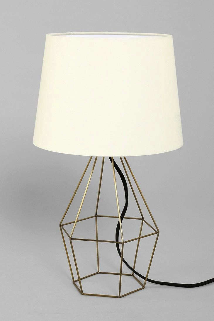 Great brass table lamp remodelista