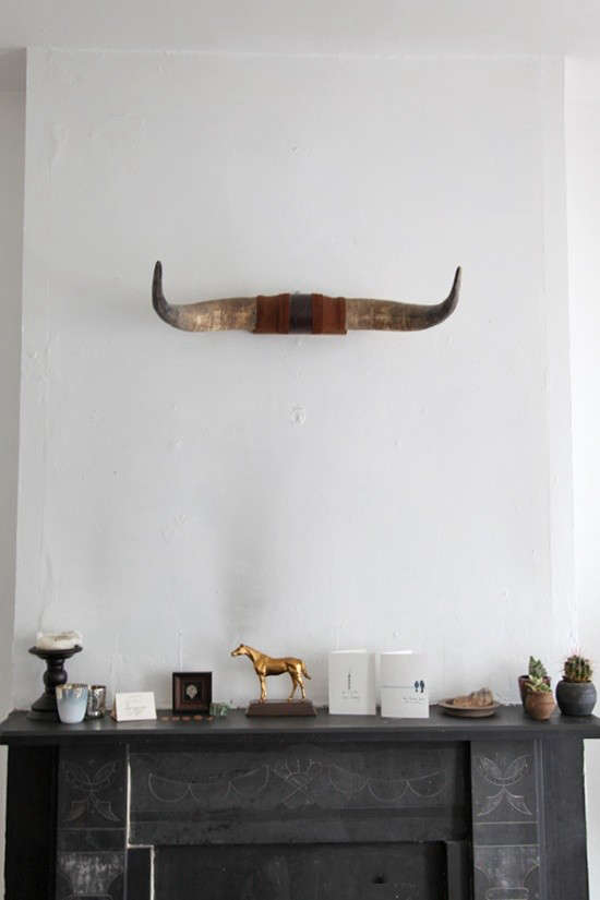 10 Favorites Are Bullhorns The New Antlers Remodelista