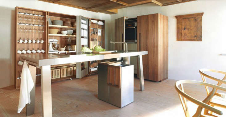The Masterfully Organized Kitchen Workshop From Bulthaup.