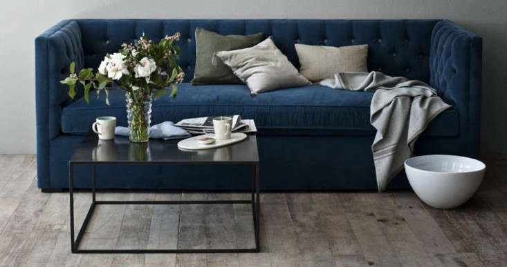 canvas blue velvet sofa royal sectional modern dark uk