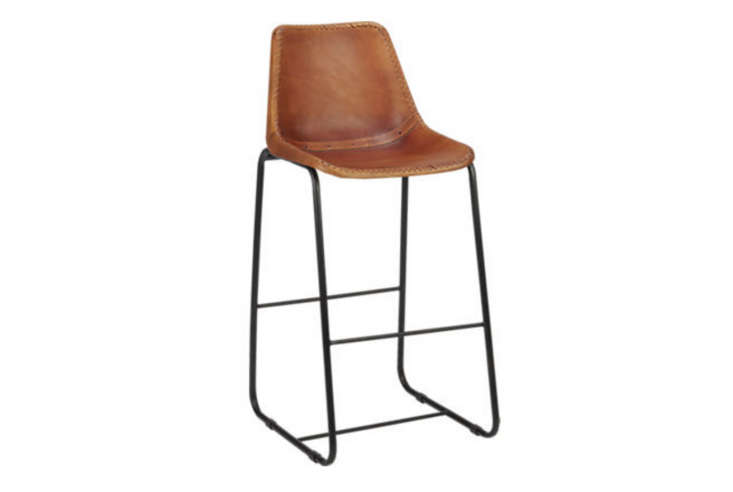 sc 1 st  Remodelista & Roadhouse Leather 30 in. Bar Stool islam-shia.org