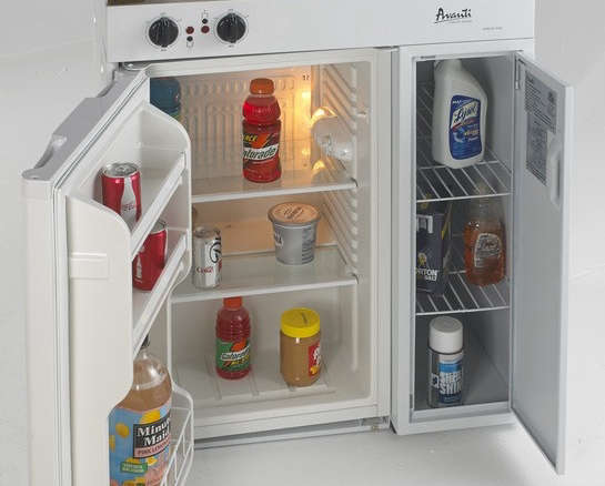 Complete Compact Kitchen With Refrigerator