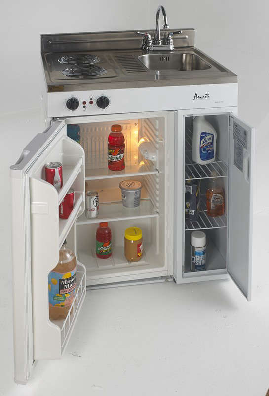 model ck30-2 - 30 in. complete compact kitchen with refrigerator