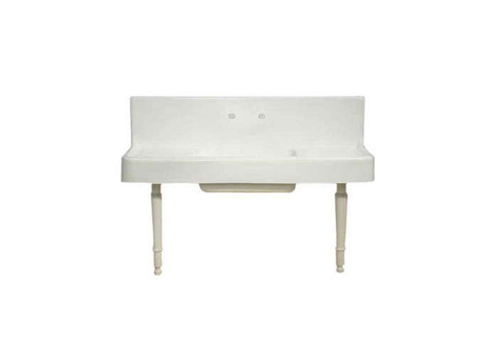 Eighteen Inch Drainboards Flank Each Side Of The Porcelain Over Cast Iron  Sink. The Version With Legs Is $1,703.99 At Vintage Tub ...