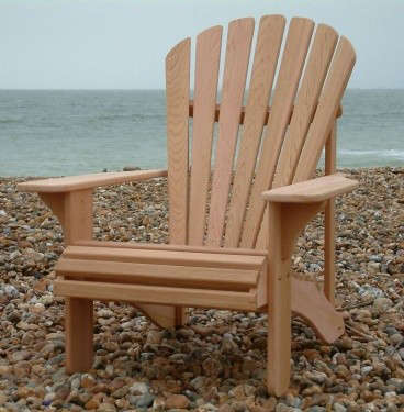 Amazing Classic Adirondack Chair U2013 Western Red Cedar