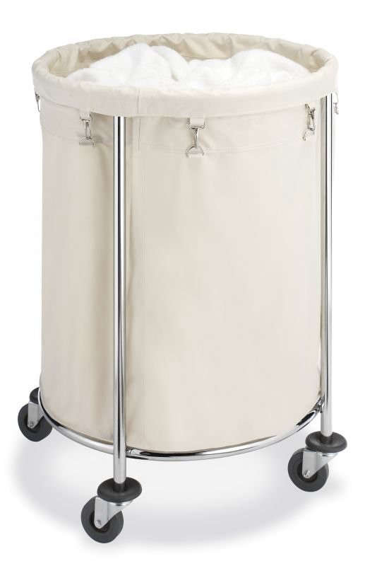 5 Favorites Wheeled Canvas Laundry Hampers Remodelista