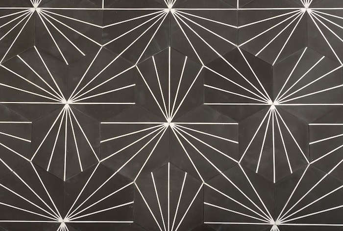 Above: Dandelion hexagonal tile from Swedish designers Claesson Koivisto Rune is 20-by-23 centimeters and comes in a variety of colors including Almost ...