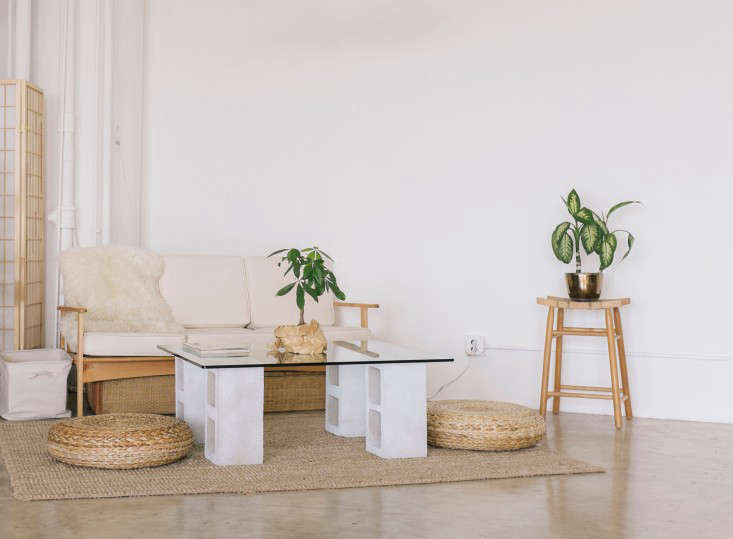 Diy 100 Glass And Concrete Coffee Table Remodelista