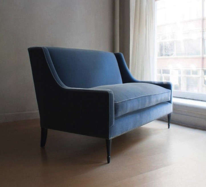 S Bespoke Settee Is Available In Mohair Velvet; Contact Dmitriy U0026 Co. For  Pricing.