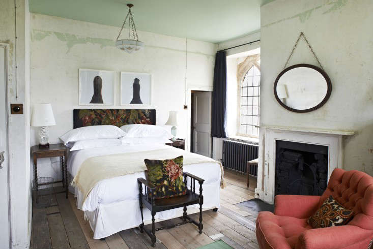 Above: The Bedrooms At The Farmhouse Are Hung With Artworks From The  Coupleu0027s Collection.