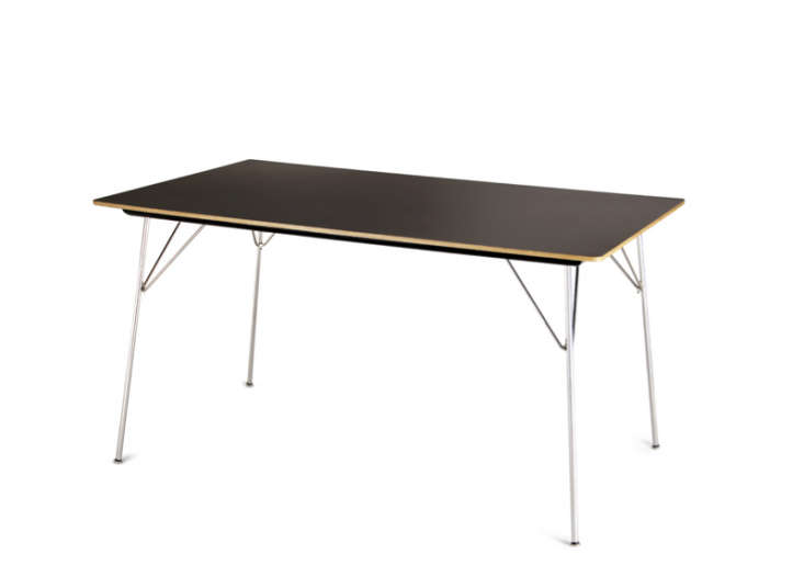 Above: The Eames Rectangular Case Study Folding Table Has Chrome Legs And A  Tabletop Made Of Maple (shown), Walnut, Or Laminate; $795 At Y Living.