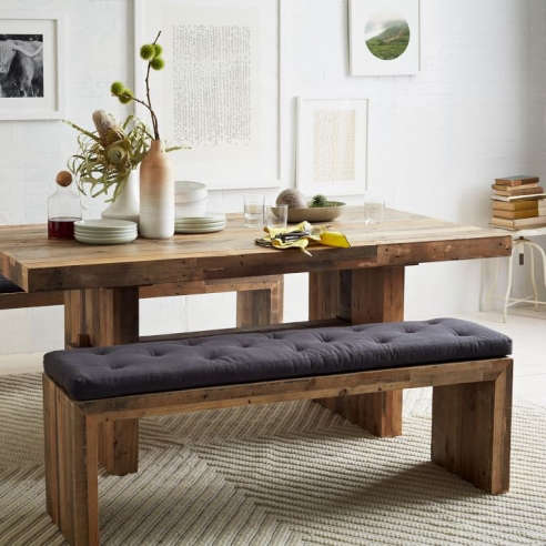 emmerson reclaimed wood bench