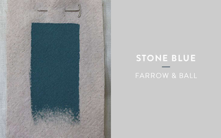 Above A Faded Teal Farrow Ball S Stone Blue Is The Lightest Color In Our Group An 18th Century Nickname For Indigo