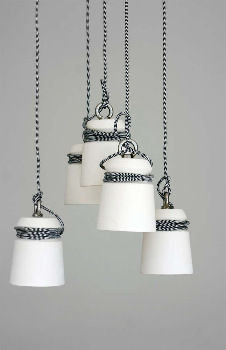Tie One On: Dutch Ceramic Lights From Folklore