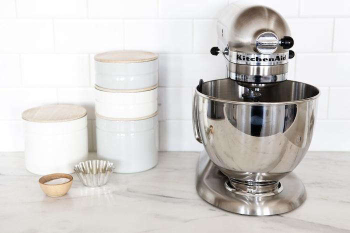 Above: The KitchenAid Metallic Series Five Quart Stand Mixer, Shown Here In  The Food 52 Kitchen, Comes Clad In Tarnish Proof Metalu2013brushed Nickel  (shown), ...