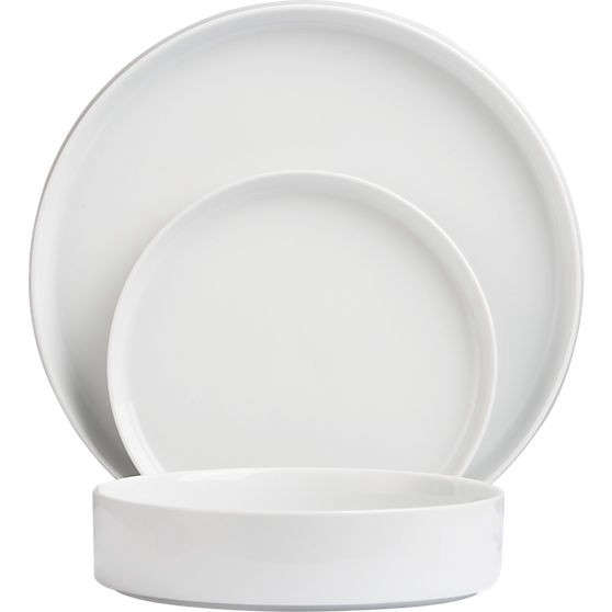 Above CB2u0027s Frank Dinnerware line is u201cinspired by 1920s Bauhaus designu201d; a Frank Dinner Plate is $5.95.  sc 1 st  Remodelista & 10 Easy Pieces: Basic White Dinnerware - Remodelista