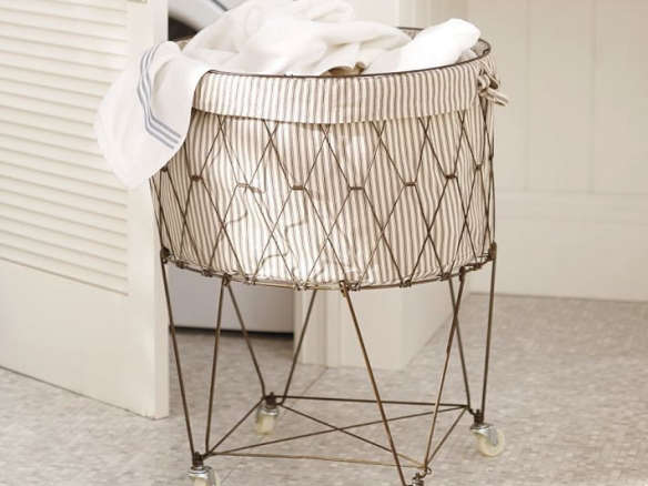 French Wire Hamper Amp Liner