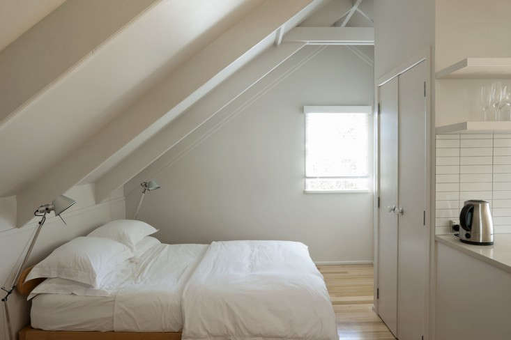 Studio Apartment Garage small-space living: an airy studio apartment in a garage - remodelista