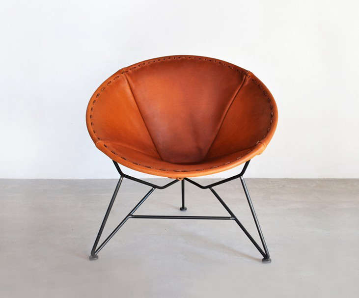 10 Easy Pieces: South American Style Leather Chairs