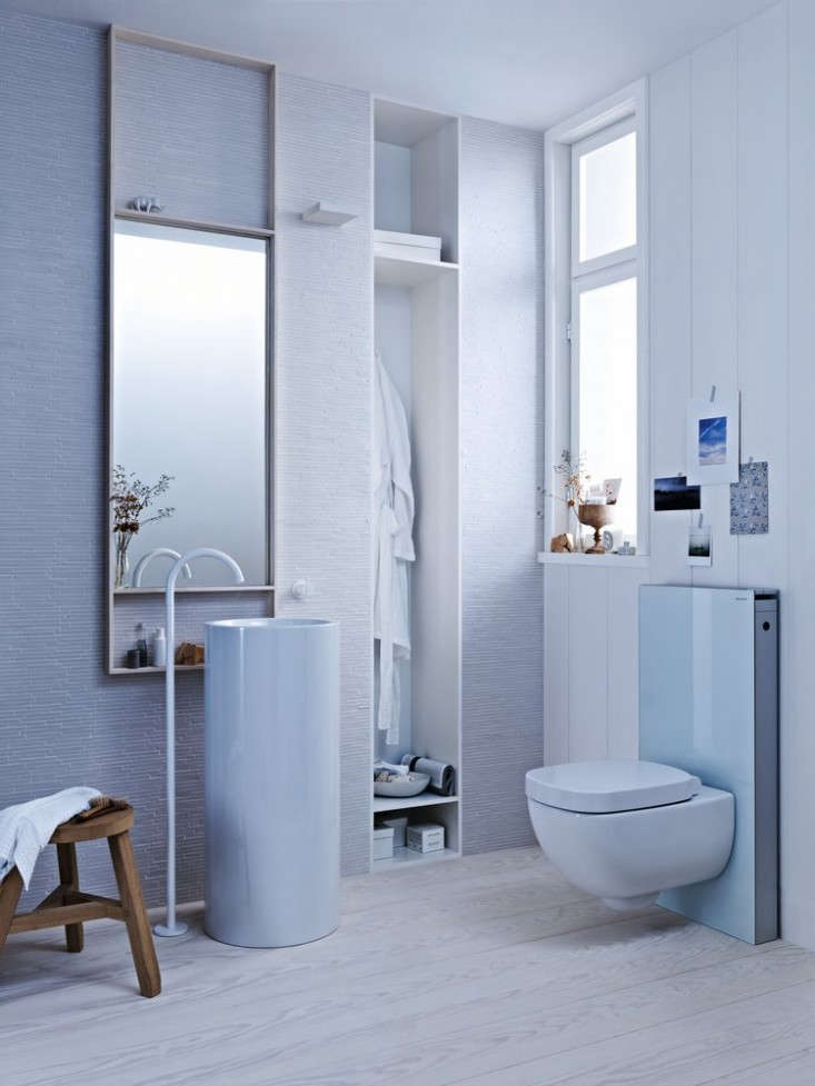 geberit european toilet systems save water and space. Black Bedroom Furniture Sets. Home Design Ideas