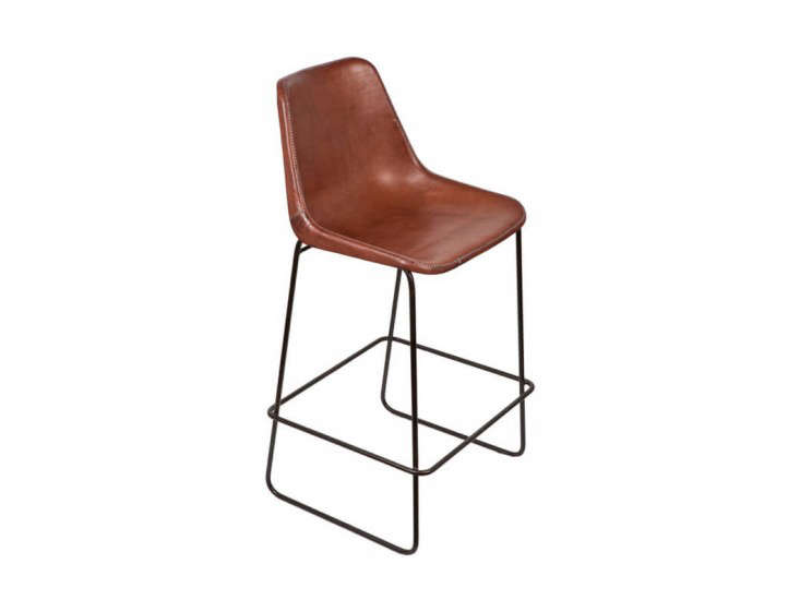 Giron Bar Stool  sc 1 st  Remodelista & 10 Easy Pieces: Leather Barstools - Remodelista islam-shia.org