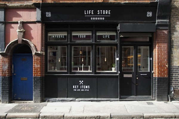 ff98e1cb7e Above: With the newly opened Lifestore, the Goodhood brand is on its way to  colonizing Coronet Street in Hoxton. Image via Trendland.