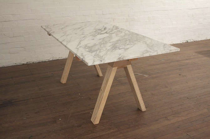 white marble table top. henry-wilson-marble-table-australia white marble table top