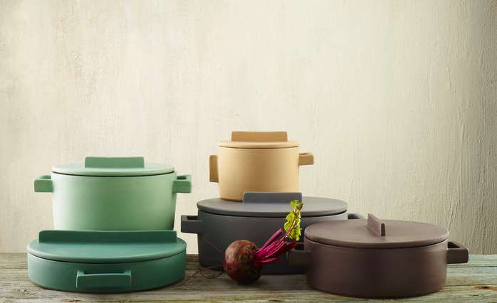 Colorful Cookware: Terra Cotto Ceramic Pots from Italy - Remodelista